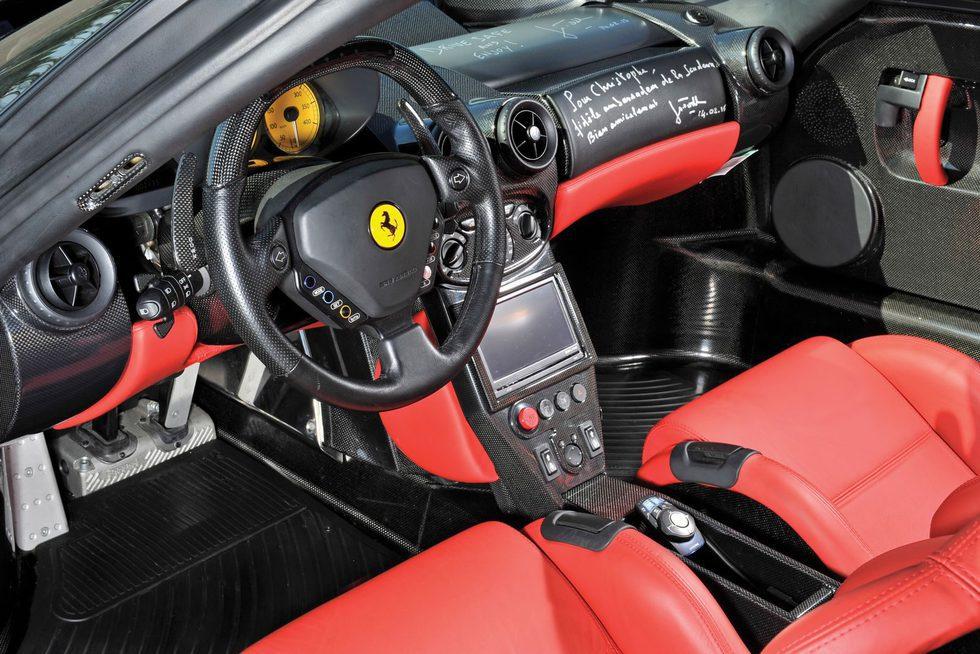 Ferrari Enzo Reconstruido Interior Foto 2 De 19 En Galera