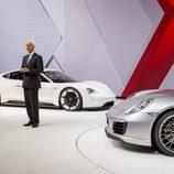 Presentacion IAA 2015 Porsche 911 991 II - escenario