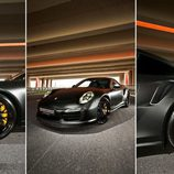 Porsche 911 Turbo S - triple