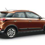 Hyundai i20 active - lateral trasera
