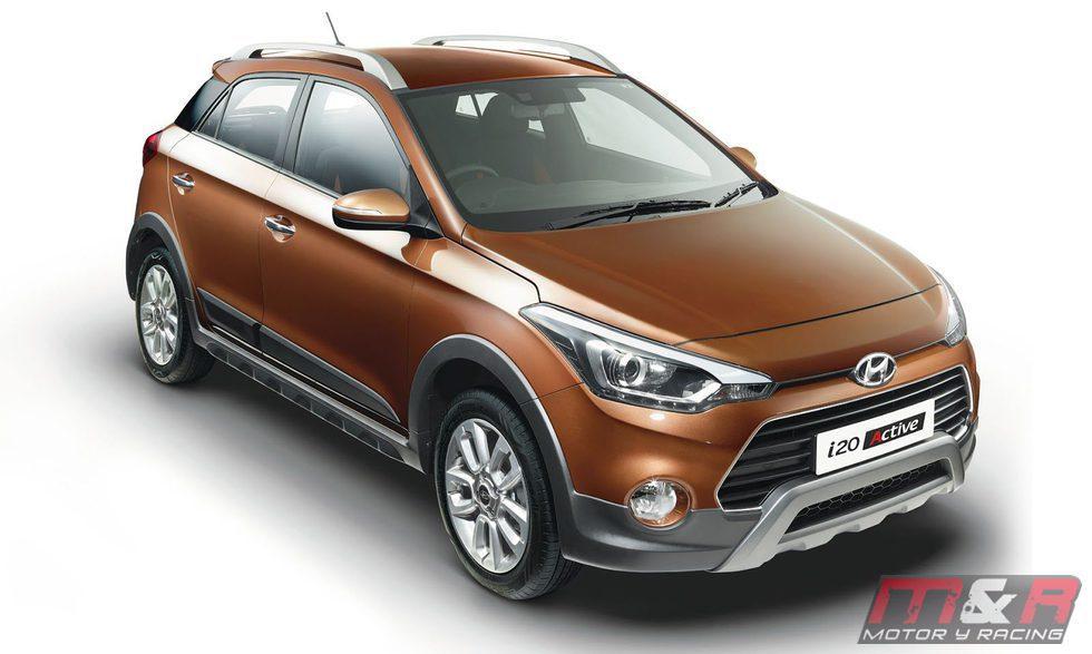 Hyundai i20 active - picado