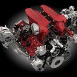 ferrari 488 gtb - motor