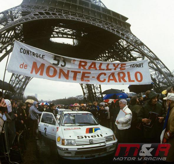 Peugeot 205 Turbo 16 Evolution 1 - Rallye de Montecarlo