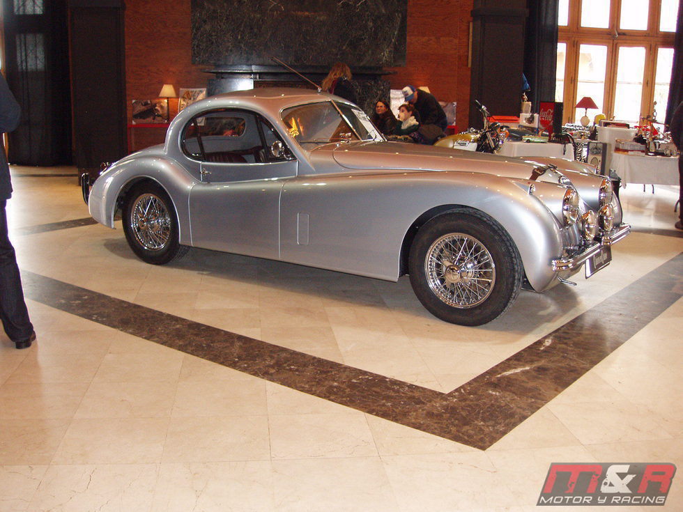 Jaguar XK 120 1951-1954 - side