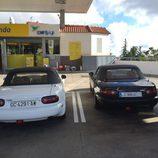 Mazda MX-5 NA - blanco y negro