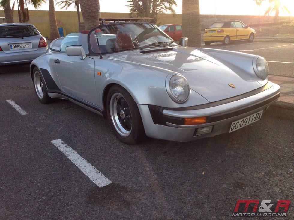 Porsche 911 Speedster 1989 - front