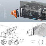 alpine vision bocetos - sensor