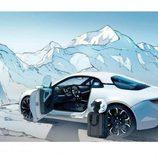 alpine vision - nieve
