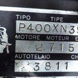 Lamborghini Miura P400S 1969 - placas
