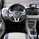 volkswagen up - interior blanco