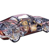 Ferrari Mondial 3.2 1985 - chasis