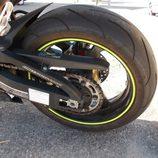Gran rueda trasera para la Honda CBR600RR