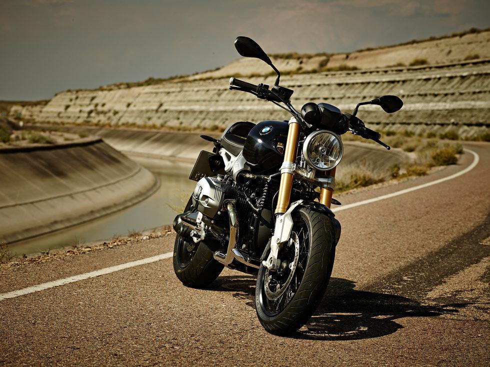 BMW R nineT frontal