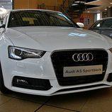 Audi A5 Sportback: Detalle del frontal