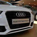 Audi A5 Sportback: Detalle de la calandra