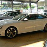 Audi A5 Sportback: Detalle lateral