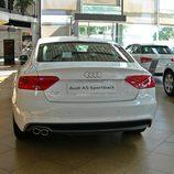 Audi A5 Sportback: Vista trasera