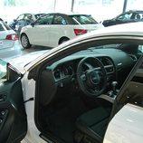 Audi A5 Sportback: Detalle acceso al puesto conductor