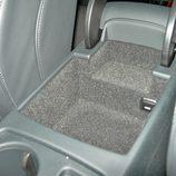 Audi A5 Sportback: Detalle de la guanetra situada bajo el apoyabrazos