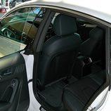Audi A5 Sportback: Detalle del acceso a las plazas traseras