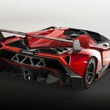 Lamborghini Veneno Roadster: Detalle trasera