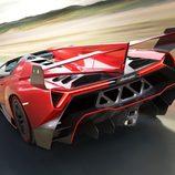 Lamborghini Veneno Roadster: en ruta