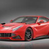 Novitec Rosso F12 Berlinetta: Vista frontal desde el lateral