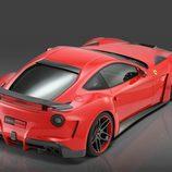 Novitec Rosso F12 Berlinetta: Vista trasera elevada