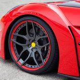 Novitec Rosso F12 Berlinetta: Detalle llanta delantera