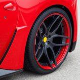 Novitec Rosso F12 Berlinetta: Detalle llanta trasera