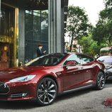 Tesla Model S: La unidad española en primer plano