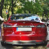 Tesla Model S: Vista trasera