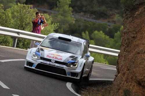 Sebastien Ogier, ganador del WRC 2013 y del Rally RACC