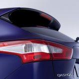 Nissan Qashqai: Detalle parte posterior