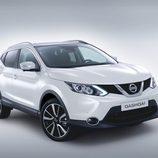 Nissan Qashqai: Vista frontal lateral