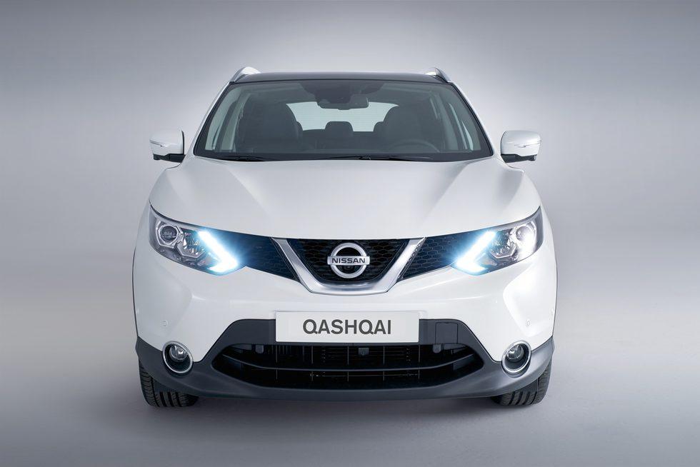 Nissan Qashqai: Blanco