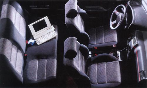 Citroën ZX Volcane: Interior