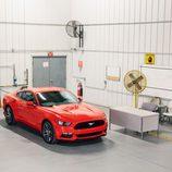 Ford Mustang 2015, en la sala de los ventiladores