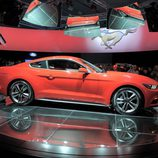 2015 Ford Mustang, lateral