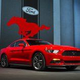 2015 Ford Mustang, escenario
