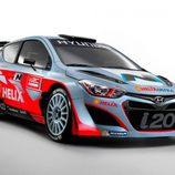 Hyundai i20 WRC al completo