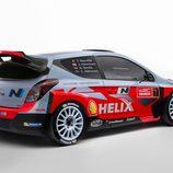 Hyundai i20 WRC perfil derecho