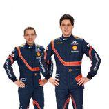 Thierry Neuville y Nicolas Gilsoul, puntas de lanza