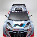 Hyundai i20 WRC vista cenital