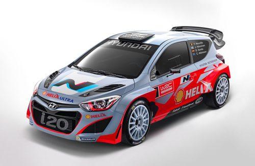 Hyundai i20 WRC lateral izquierdo