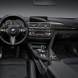 BMW M4: Tablero de abordo