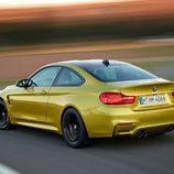 BMW M4: Detalle parte trasera