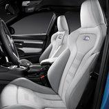 BMW M3: Detalle de los asientos