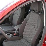 Seat León: Detalle asientos delanteros