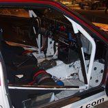 Audi Quattro rally car, interior